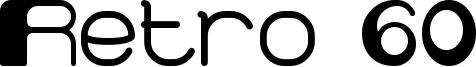 Retro 60 Font