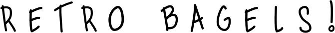 Retro Bagels! Font