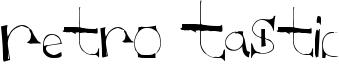 Retro Tastic Font