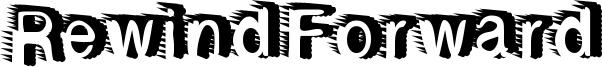 Rewind Forward Font