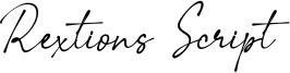 Rextions Script Font