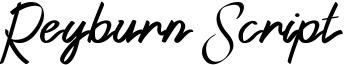 Reyburn Script Font