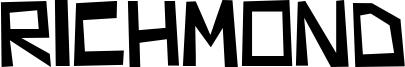 Richmond Font