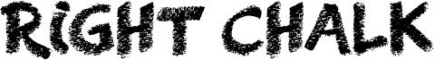 Right Chalk Font