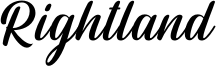 Rightland Font