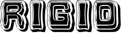 Rigid Font