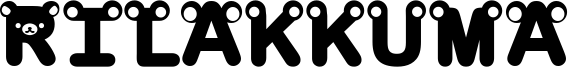 Rilakkuma Font