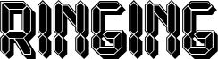 Ringing Font