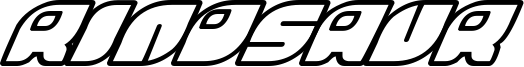 Rinosaur Font