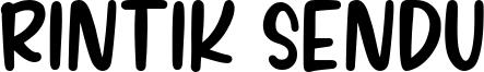 Rintik Sendu Font