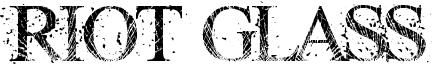 Riot Glass Font