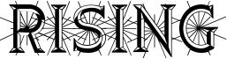 Rising Font
