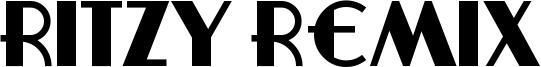 Ritzy Remix Font