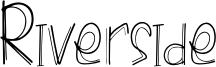 Riverside Font