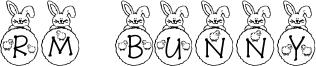 RM Bunny Font