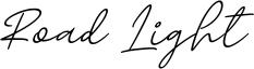 Road Light Font