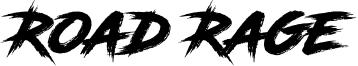 Road Rage Font
