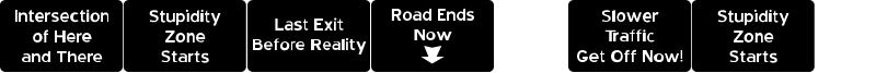 Road to Nowhere JL Font