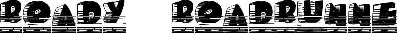 Roady Roadrunner Font