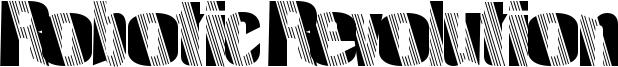 Robotic Revolution Font