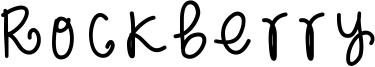 Rockberry Font