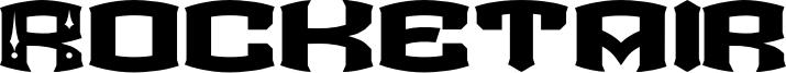 Rocketair Font