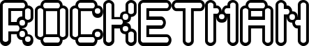 Rocketman Font