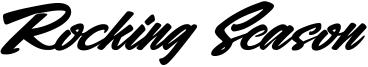 Rocking Season Font