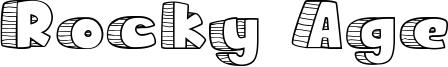 Rocky Age Font