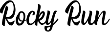 Rocky Run Font