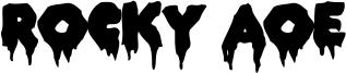 Rocky AOE Font