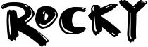 Rocky Font