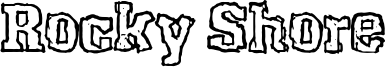 Rocky Shore Font