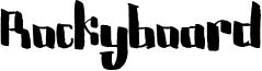 Rockyboard Font