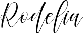 Rodelia Font