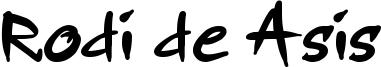 Rodi de Asis Font