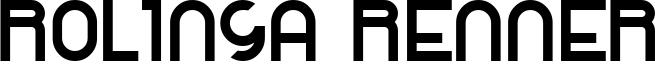Rolinga Renner Font