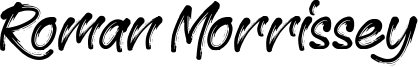 Roman Morrissey Font
