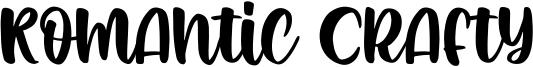 Romantic Crafty Font