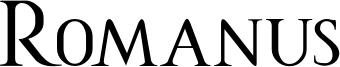 Romanus Font
