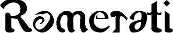 Romerati Font