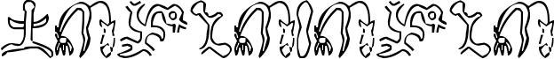 Rongorongo Font