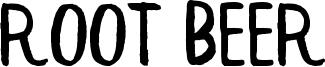 Root Beer Font