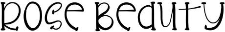 Rose Beauty Font
