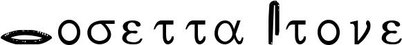 Rosetta Stone Font