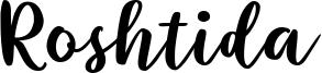 Roshtida Font