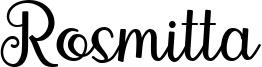 Rosmitta Font