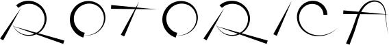 Rotorica Font