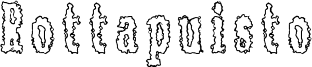 Rottapuisto Font