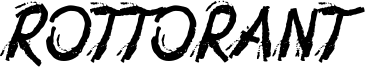 Rottorant Font
